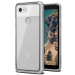 VRS DESIGN(VERUS) Crystal Chrome for Pixel 3 (Clear)