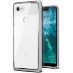 VRS DESIGN(VERUS) Crystal Chrome for Pixel 3 XL (Clear)