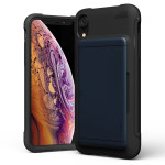 VRS DESIGN(VERUS) Damda Glide Shield for iPhoneXR (Deepsea Blue)