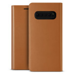 VRS DESIGN(VERUS) Genuine Leather Diary for Galaxy S10 (Brown)