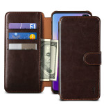 VRS DESIGN(VERUS) Layered Dandy for Galaxy S10 Plus (Dark Brown)