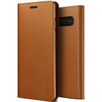 VRS DESIGN(VERUS) Genuine Leather Diary for Galaxy S10 Plus (Brown)