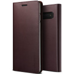 VRS DESIGN(VERUS) Genuine Leather Diary for Galaxy S10 Plus (Wine)