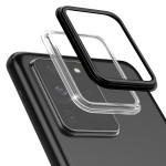 araree Camera Bumper for Galaxy S20 Ultra (Black+Clear)