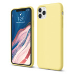 elago SILICONE CASE 2019 for iPhone11 Pro Max (Yellow)