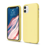 elago SILICONE CASE 2019 for iPhone11 (Yellow)