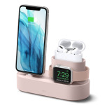 elago CHARGING HUB PRO for iPhone / AirPods Pro / Apple Watch (Sand Pink)