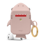 elago SHARK CASE for AirPods /AirPods 2nd Charging / AirPods 2nd Wireless (Sand Pink)