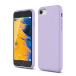 elago SILICONE CASE 2019 for iPhone SE2 (Lavender)
