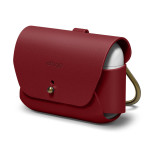 elago LEATHER CASE for AirPods Pro (Red)