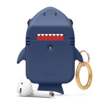 elago SHARK CASE for AirPods /AirPods 2nd Charging / AirPods 2nd Wireless (Jean Indigo)