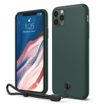 elago SLIMFIT STRAP CASE for iPhone11 Pro Max (Midnight Green)