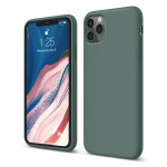 elago SILICONE CASE 2019 for iPhone11 Pro Max (Midnight Green)