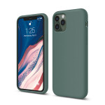elago SILICONE CASE 2019 for iPhone11 Pro (Midnight Green)