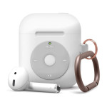elago AW6 HANG CASE for AirPods /AirPods 2nd Charging / AirPods 2nd Wireless (White)