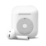 elago AW6 CASE for AirPods /AirPods 2nd Charging / AirPods 2nd Wireless (White)