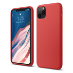 elago SILICONE CASE 2019 for iPhone11 Pro Max (Red)