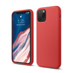 elago SILICONE CASE 2019 for iPhone11 Pro (Red)