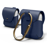 elago AIRPODS LEATHER CASE for AirPods (Jean Indigo)