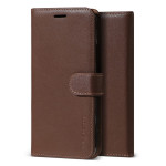VRS DESIGN(VERUS) Genuine Leather Stand for iPhone11 Pro Max (Brown)