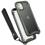 VRS DESIGN(VERUS) Crystal Mixx Pro for iPhone11 (Green Carbon)