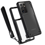 VRS DESIGN(VERUS) Crystal Mixx Pro for Galaxy S21 Ultra (Black Carbon)