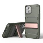 VRS DESIGN(VERUS) Quickstand for iPhone12 mini (Green - Bronze)