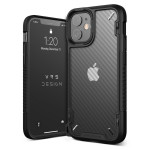 VRS DESIGN(VERUS) Crystal Mixx Pro for iPhone12 mini (Black Carbon)