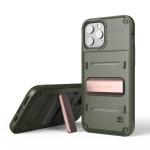 VRS DESIGN(VERUS) Quickstand for iPhone12 Pro / iPhone12 (Green - Bronze)