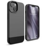 elago GLIDE CASE for iPhone13 (Dark Grey/Black)