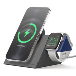 elago MS5 CHARGING STAND for MagSafe Charger / Apple Watch Charger (Dark Grey+Jean Indigo)