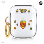 elago LINE FRIENDS BURGER TIME for AirPods /AirPods 2nd Charging / AirPods 2nd Wireless (Sally)