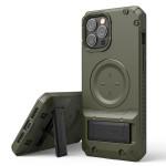 VRS DESIGN(VERUS) MS Quickstand Pro for iPhone12 Pro Max (Green)
