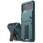 VRS DESIGN(VERUS) Quickstand Active for Galaxy Z Flip3 (5G) (Ash Green)