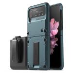 VRS DESIGN(VERUS) Quickstand Active+Multi Clip for Galaxy Z Flip3 (5G) (Ash Green)