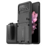 VRS DESIGN(VERUS) Quickstand Active+Multi Clip for Galaxy Z Flip3 (5G) (Sand Stone)