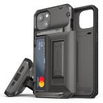 VRS DESIGN(VERUS) Damda Glide Hybrid for iPhone13 (Metal Black)