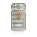 Bling My Thing Extravaganza Heart for iPhone6 Plus/6s Plus (Silver_Gold Heart)