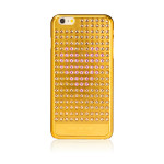 Bling My Thing Extravaganza Heart for iPhone6 Plus/6s Plus (Gold_Rose Heart)